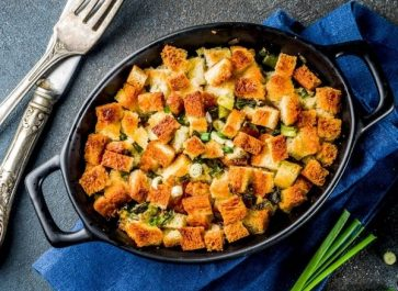 stuffing recipes in cast iron skillet