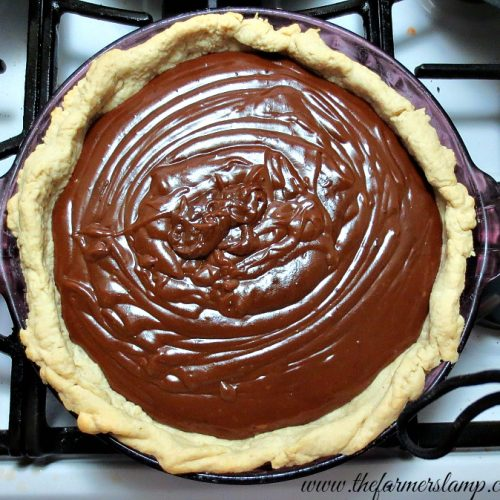 Chocolate Pie From Scratch