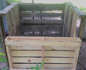 compost bin for building a DIY compost bin from wooden pallets